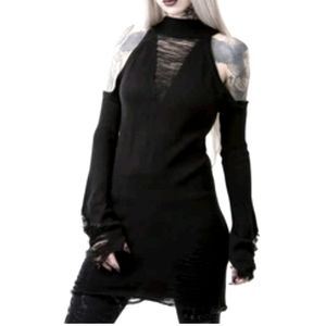 Depths of Darkness Knit Sweater